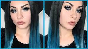 easy gothic alternative makeup tutorial