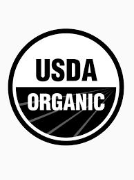 "USDA Organic Logo Black and White"" T-shirt by BrenPrib | Redbubble"
