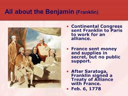 Image result for A formal treaty of alliance followed on February 6, 1778.