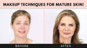 makeup techniques for women over 40