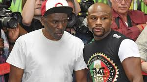boxing trainer Roger Mayweather ...