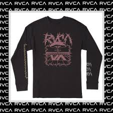 rvca 2019 20aw long sleeves cotton