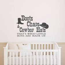 Wall Decals Quotes Boots Chaps And Cowboy Hats Thats What Etsy