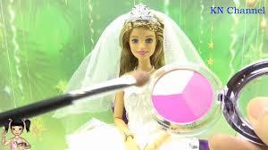 Thơ Nguyễn - Búp bê trang điểm làm cô dâu tuyệt đẹp - YouTube