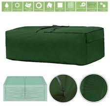 garden patio seat cushion storage bag