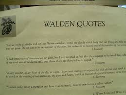 walden quotes poster henry david thoreau