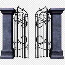 wrought iron gate png