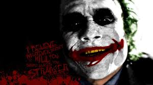 batman quotes the joker typography blood splatters smiling batman
