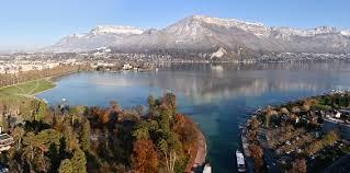 appartement vue lac en rhône alpes Ôhm