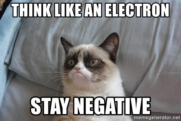 """Image result for negative electron meme"""""""