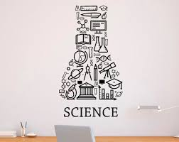 Science Decal Science Wall Decal Classroom Wall Decal Etsy Vinyl Wall Decals Science Classroom Decorations Wall Decals
