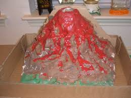 how to make a fast and easy volcano