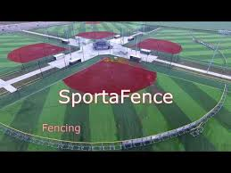 Sportafence Portable Fencing Youtube