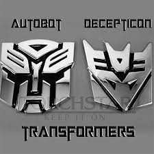 Quality 3d Transformers Autobot Decepticon Emblem Sticker Car Badge Decal Uk Car Exterior Styling Badges Decals Emblems Vehicle Parts Accessories