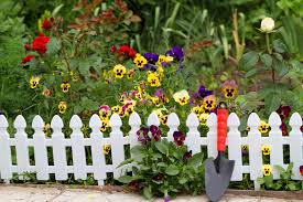 Beautiful White Fence Landscaping Ideas Garden Lovers Club