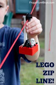 build a lego zipline frugal fun for