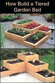 raised garden beds diy multi level