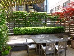 Exterior Let S Designs Apartment Balcony Privacy Screen With The Nice Concept Traditional Picture Design Cool Long Rectangle Table Brown Chairs Good Green Red Color Leaf Design Good Concepts Picture Designs Bucga
