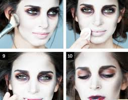 diy zombie makeup step by saubhaya makeup