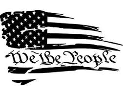 We The People Decal Etsy