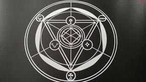 5 Small Transmutation Circle Vinyl Decal Etsy