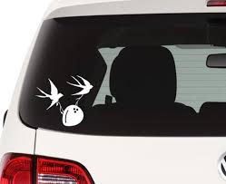 Monty Python Inspired Swallows And Coconut Decal Sticker Etsy