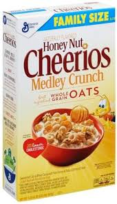 cheerios oat wheat sweetened whole