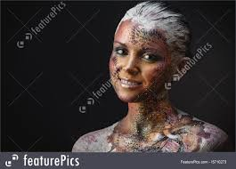 picture of bird fantasy makeup