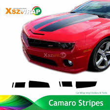 Carbon Black Camaro Racing Stripes Chevy Decals Hood Roof Trunk Kit Pro Motor Stripes Custom Made Sticker Stickers Stickers Sticker Prostickers Racing Aliexpress