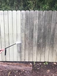 Cedar Fence Power Wash Braundera Com