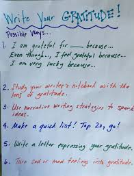 the antidote to stress teach students to write about