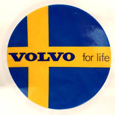 Volvo For Life Swedish Flag Car Decal Car Accessories Accessories On Carousell