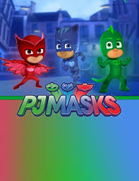 Pj Masks Birthday Party Printable Files Crear Invitaciones De