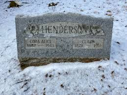 Cora Alice Scritchfield Henderson (1882-1945) - Find A Grave Memorial
