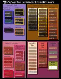 softap pigment color chart