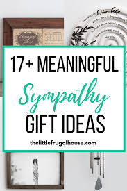 thoughtful meaningful sympathy gift ideas