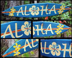 hawaii decorative surfboards