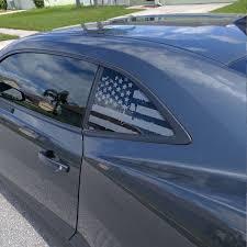 Battered Flag Quarter Window Vinyl Camaro5 Chevy Camaro Forum Camaro Zl1 Ss And V6 Forums Camaro5 Com