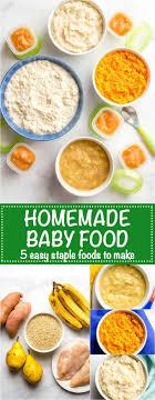 homemade baby food sweet potatoes