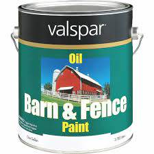 Valspar Oil Paint Primer In One Low Sheen Barn Fence Paint White 1 Gal Do It Best World S Largest Hardware Store