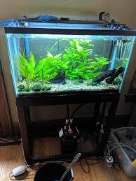 Ga Milwaukee Wi 29 Gallon Tall Aquarium Stand And Fish Aquaswap