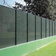 Public Space Fence Fixed System Fils Wire Mesh Metal Modular