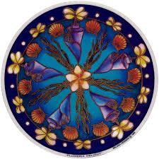 Plumeria Delight Window Sticker Decal Peace Resource Project