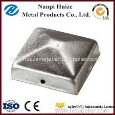 Hot Dipped Galvanised Pipe Fencing Round Metal Fence Post Caps Hzzk101 Manufacturer From China Nanpi Huize Metal Products Co Ltd