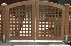 Los Angeles Wood Driveway Gates Beautiful Entry Gates