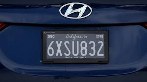 Digital License Plates Roll Out In California The Two Way Npr