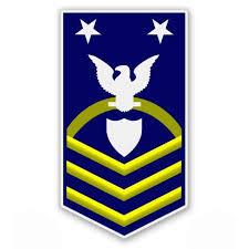 Uscg Us Coast Guard Scpo Command Master Chief Petty Officer E 9 Rank Vinyl Sticker Waterproof Decal Sticker 5 Walmart Com Walmart Com