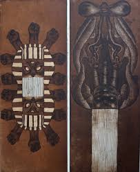 Untitled 1 & 2 - Adrian Armstrong   Davidson Galleries   Antique Modern  Contemporary Works On Paper