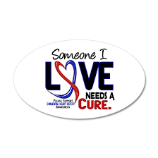 Chd Needs A Cure 2 20x12 Oval Wall Decal By Awarenessgiftboutique Cafepress