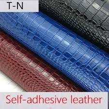 self adhesion faux synthetic leather